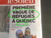 Le Soleil tiré de la page facebook de  Québec inclusif